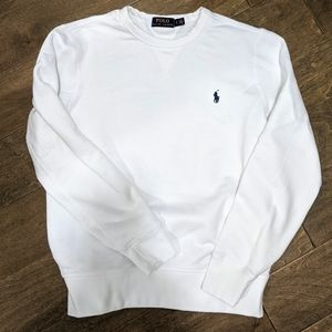 Polo Ralph Lauren Sweatshirt White Small